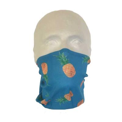 Pineapple Face Cover Neck Tube (Child's Size)