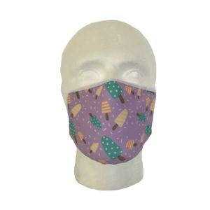 Ice Lolly Cloth Face Mask (Child's Size)