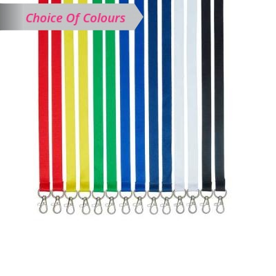 Double Clip Lanyard - 1.5cm - Pack of 10