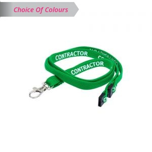 Contractor Lanyard - Pack of 10