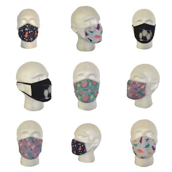 Children's Fabric Face Masks
