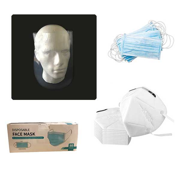 Medical Masks & Personal Protective Equipment
