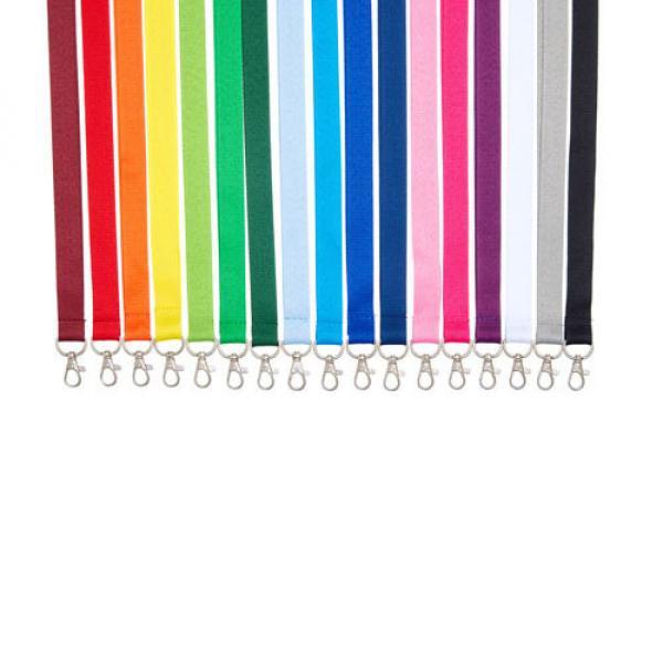 Plain Coloured Lanyards