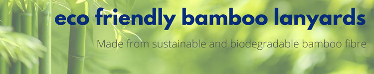 Eco Friendly Lanyards Banner