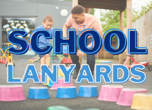 School Lanyards & College Lanyards Banner